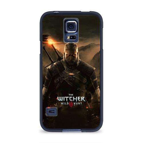 Чехол для Samsung Galaxy S5 силиконовый Wild hunt