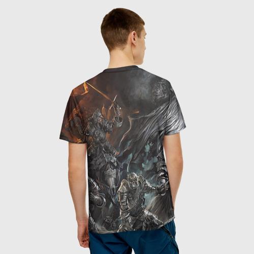 Мужская футболка 3D  Фото 02, Wild hunt