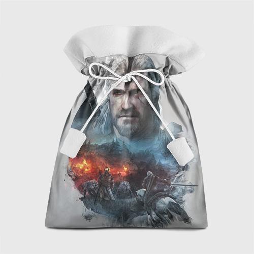 "Новогодний 3D мешок ""Witcher"" - 1"