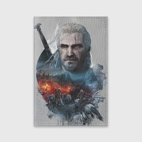 """Обложка для паспорта """"Witcher"""" (из матовой кожи) фото 0"""