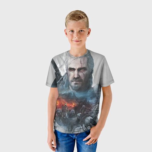 Детская футболка 3D Witcher