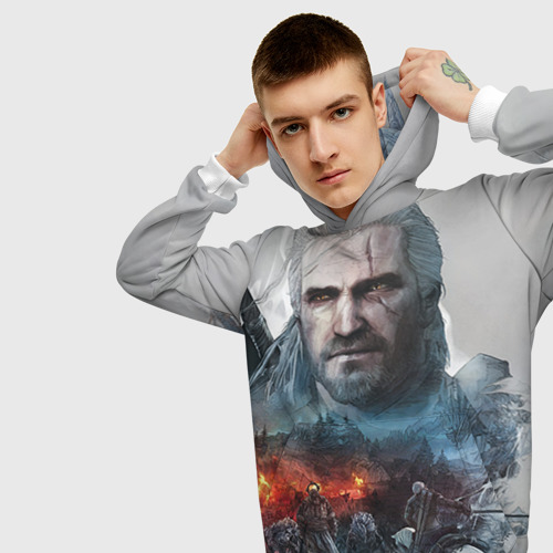 Мужская толстовка 3D Witcher