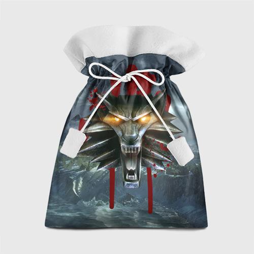 Подарочный 3D мешок Амулет Ведьмака