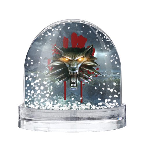 Водяной шар со снегом Амулет Ведьмака