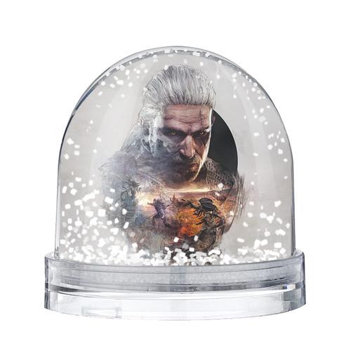 Водяной шар со снегом Ведьмак