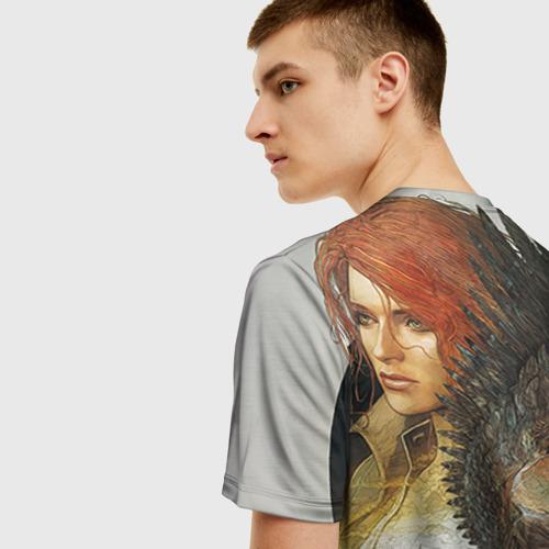 Мужская футболка 3D Девушки Ведьмака Фото 01