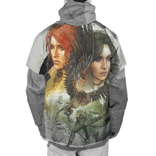 Накидка на куртку 3D  Фото 02, Девушки Ведьмака