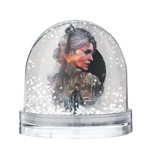 Водяной шар со снегом Девушки Ведьмака