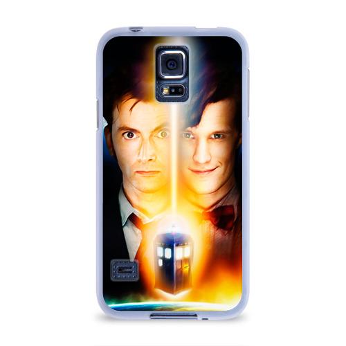 Чехол для Samsung Galaxy S5 силиконовый  Фото 01, Доктор кто