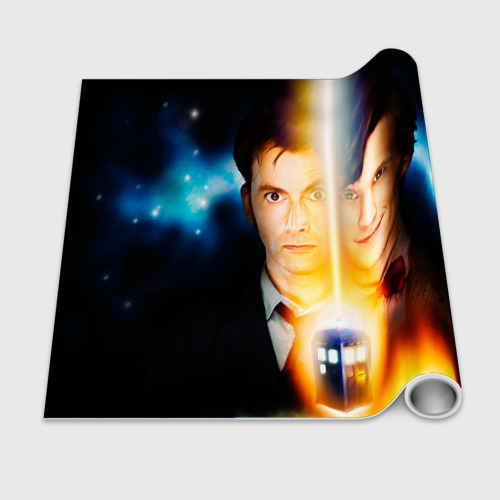 Бумага для упаковки 3D  Фото 02, Доктор кто
