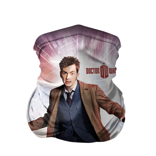 Бандана-труба 3D Доктор кто