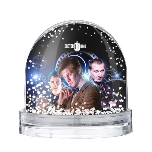 Водяной шар со снегом Доктор кто