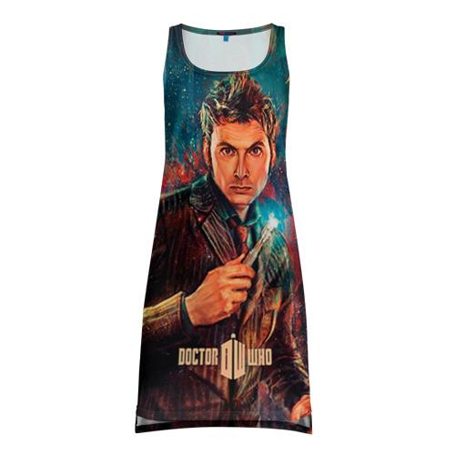 Платье-майка 3D Доктор кто