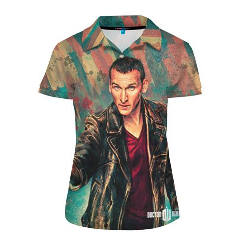 Женская рубашка поло 3D Доктор кто