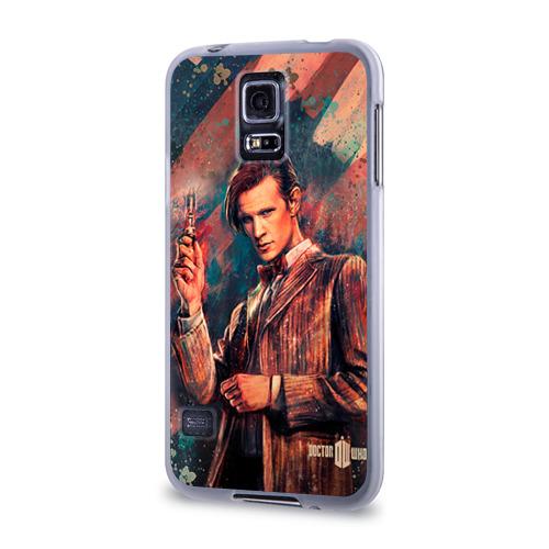 Чехол для Samsung Galaxy S5 силиконовый  Фото 03, Доктор кто