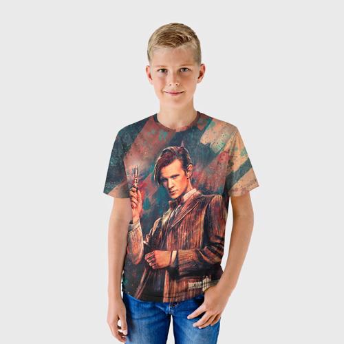 Детская футболка 3D Доктор кто