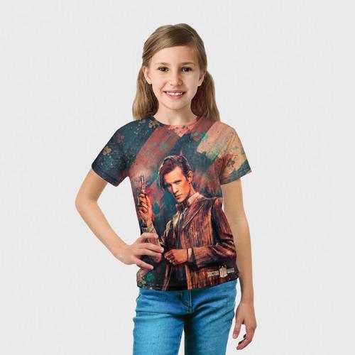 Детская футболка 3D  Фото 03, Доктор кто