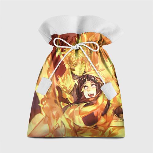 Подарочный 3D мешок Наруто и Хината