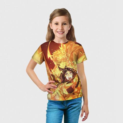 Детская футболка 3D  Фото 03, Наруто и Хината