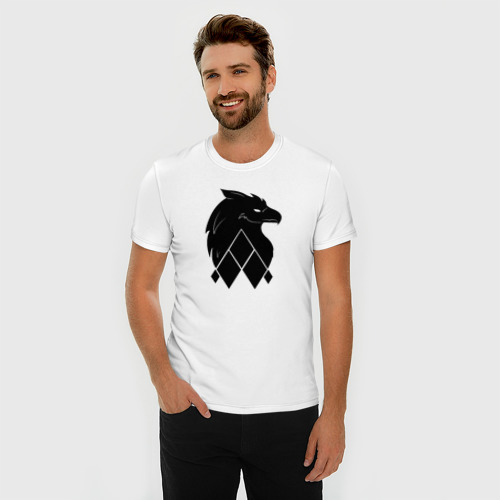 Мужская футболка премиум  Фото 03, Логотип Skrux'a