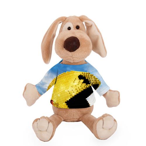 Собачка в футболке  Фото 01, Пиксели