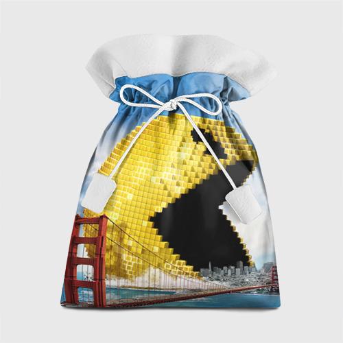 Подарочный 3D мешок Пиксели