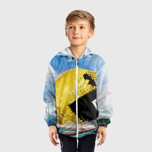 Детская ветровка 3D  Фото 03, Пиксели