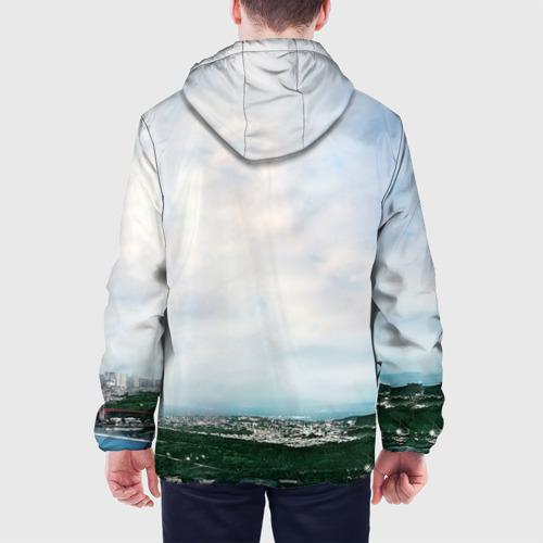 Мужская куртка 3D  Фото 05, Пиксели