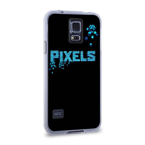Чехол для Samsung Galaxy S5 силиконовый  Фото 02, Pixels
