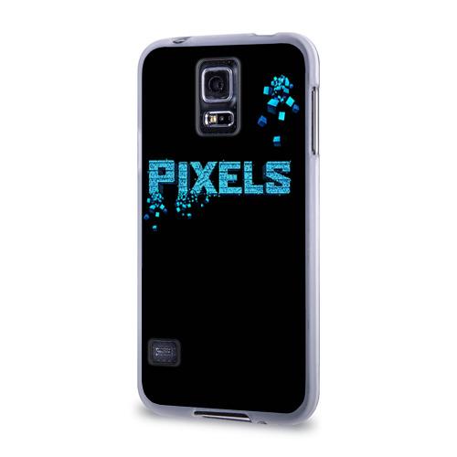 Чехол для Samsung Galaxy S5 силиконовый  Фото 03, Pixels