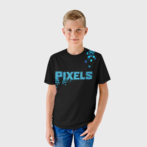Детская футболка 3D Pixels