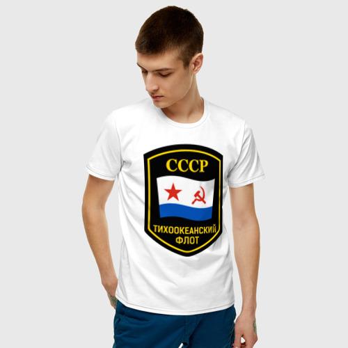 Мужская футболка хлопок Тихоокеанский флот СССР Фото 01
