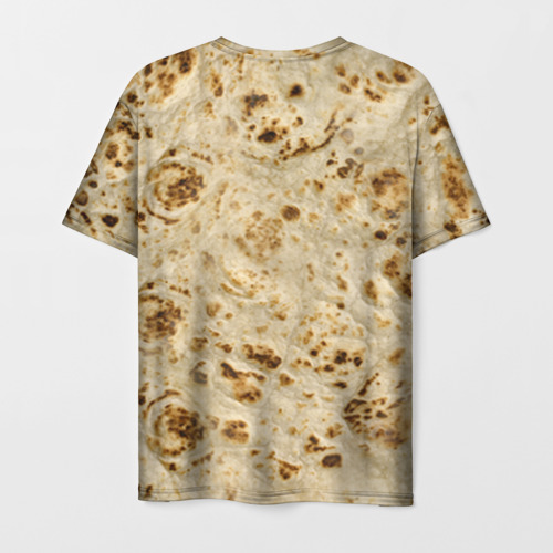 Мужская футболка 3D Лаваш Фото 01