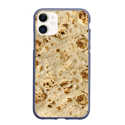 Чехол для iPhone 11 матовый Лаваш Фото 01