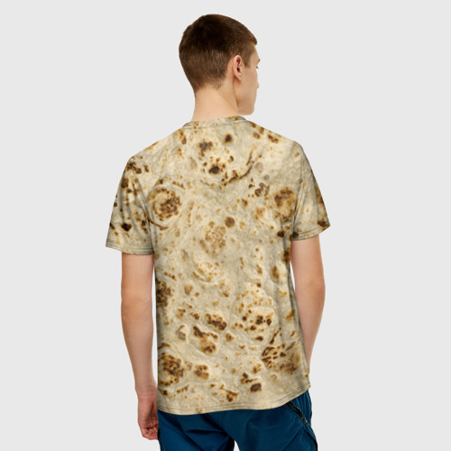 Мужская футболка 3D  Фото 02, Лаваш