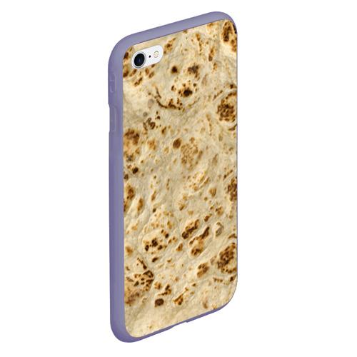 Чехол для iPhone 6/6S Plus матовый Лаваш Фото 01