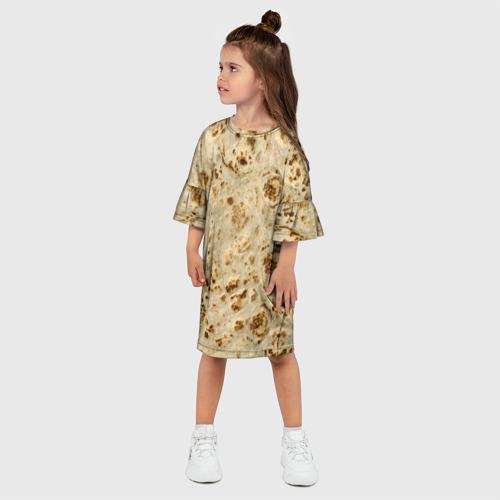 Детское платье 3D Лаваш Фото 01