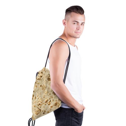Рюкзак-мешок 3D Лаваш Фото 01