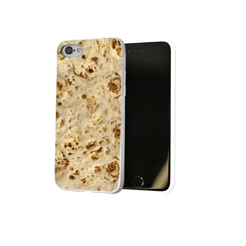 Чехол для Apple iPhone 8 силиконовый глянцевый Лаваш Фото 01