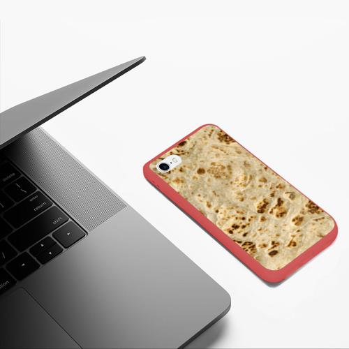 Чехол для iPhone 6/6S матовый Лаваш Фото 01