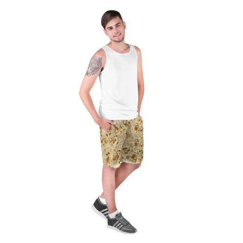 Мужские шорты 3D Лаваш Фото 01