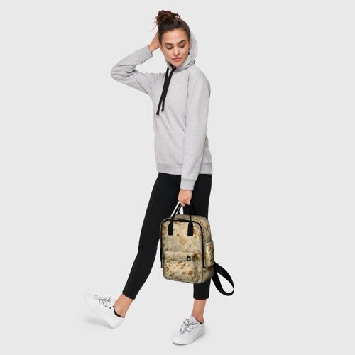 Женский рюкзак 3D Лаваш Фото 01