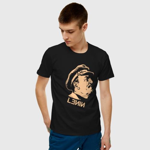 Мужская футболка хлопок Lenin Vladimir Фото 01