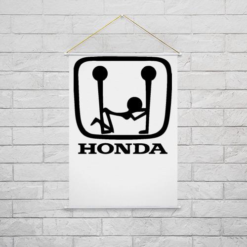 Тканевый плакат  Фото 02, Honda Logo Sexy