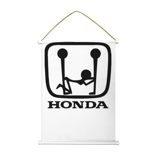 Тканевый плакат  Фото 01, Honda Logo Sexy