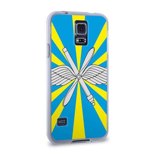 Чехол для Samsung Galaxy S5 силиконовый  Фото 02, Флаг ВВС