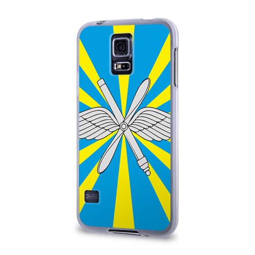 Чехол для Samsung Galaxy S5 силиконовый  Фото 03, Флаг ВВС