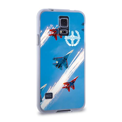 Чехол для Samsung Galaxy S5 силиконовый  Фото 02, Самолеты