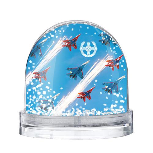 Водяной шар со снегом Самолеты