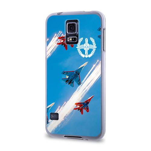 Чехол для Samsung Galaxy S5 силиконовый  Фото 03, Самолеты